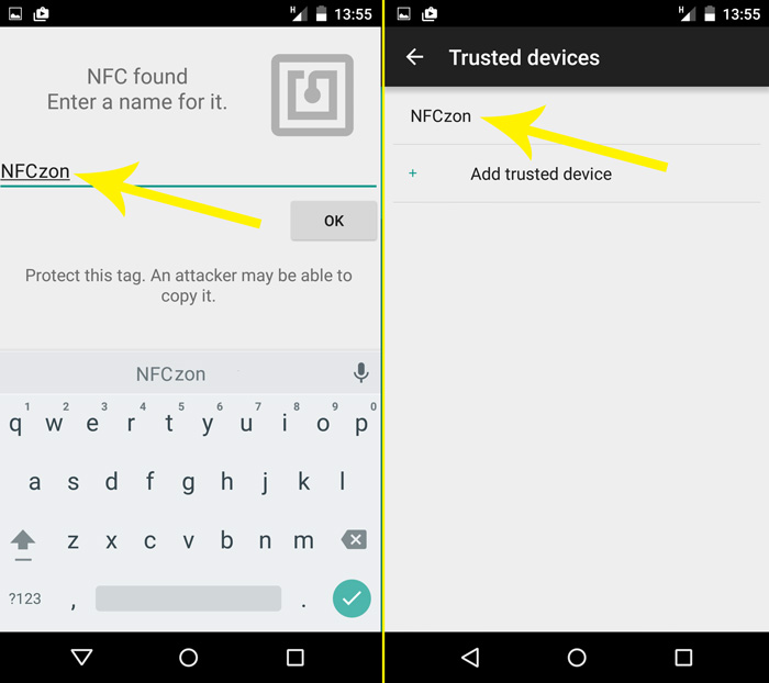 Using the NFC Ring with Android Smart Lock | NFC Ring
